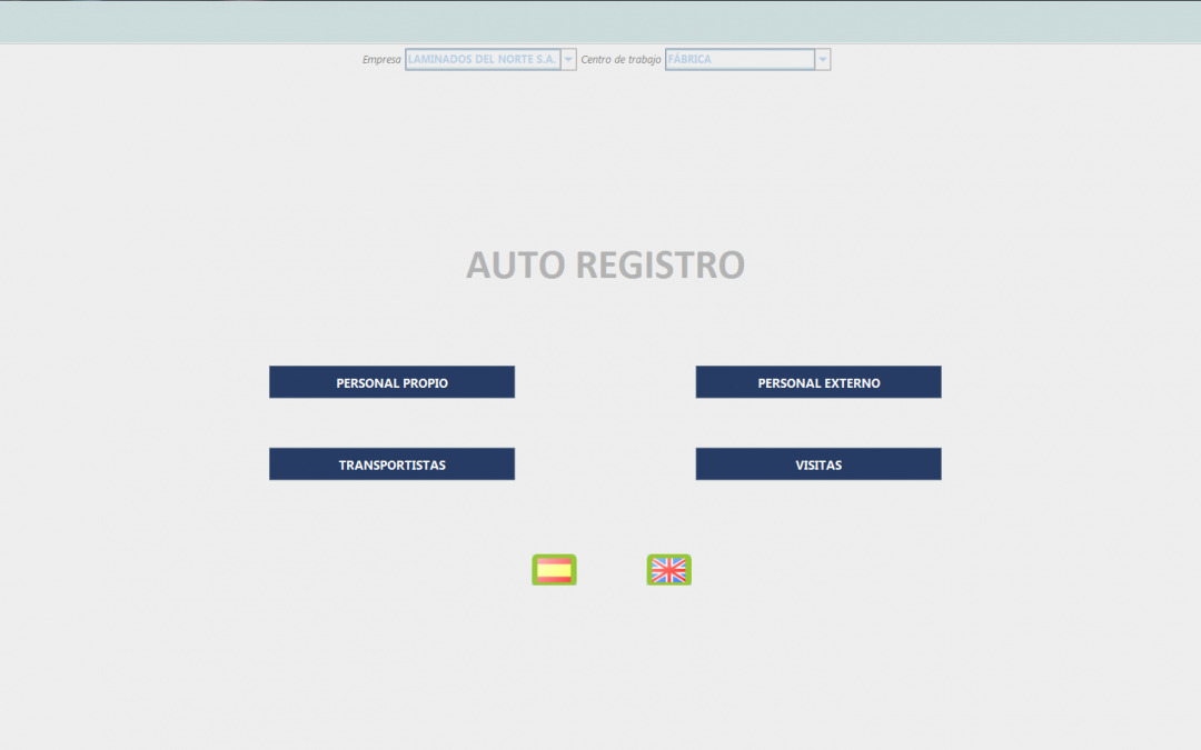 NOVEDAD: QUIOSCO DE AUTO REGISTRO